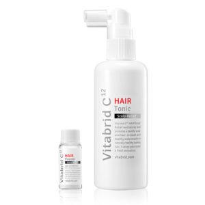 vitabrid c12 hair tonic set scalp relief small